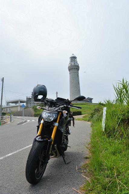 角島灯台 公園