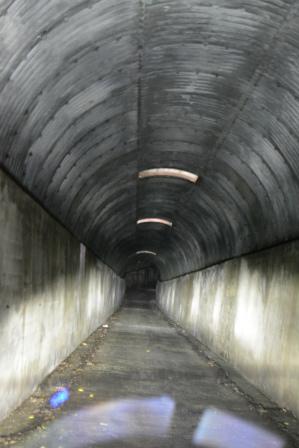 ⑥-2開聞岳のトンネル